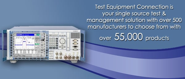 Used Test Equipment - Test Equipment Connection - Repairs - New