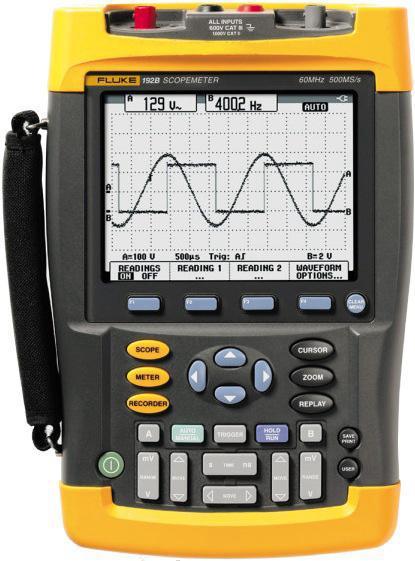 Fluke 192b Scopemeter Oscilloscopes
