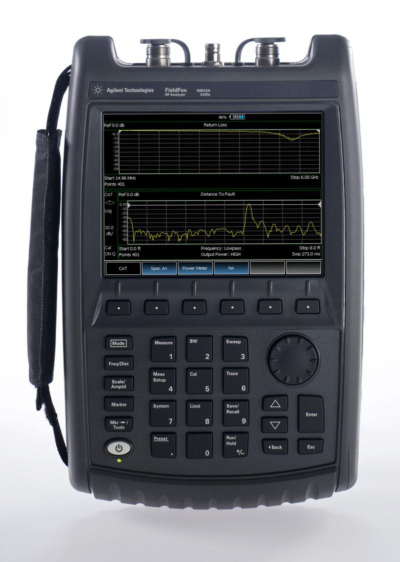 Network Analyzer Hand Held : Keysight agilent option n a cable antenna analyzers