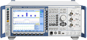 Rohde & Schwarz CMW500 loaded with options