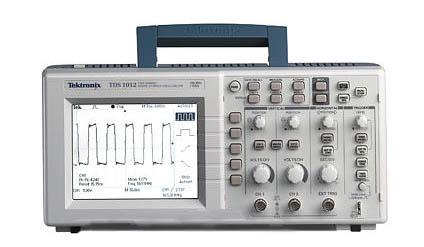 tektronix tds1012 digital oscilloscopes rh testequipmentconnection com Tektronix Logo Tektronix Logo