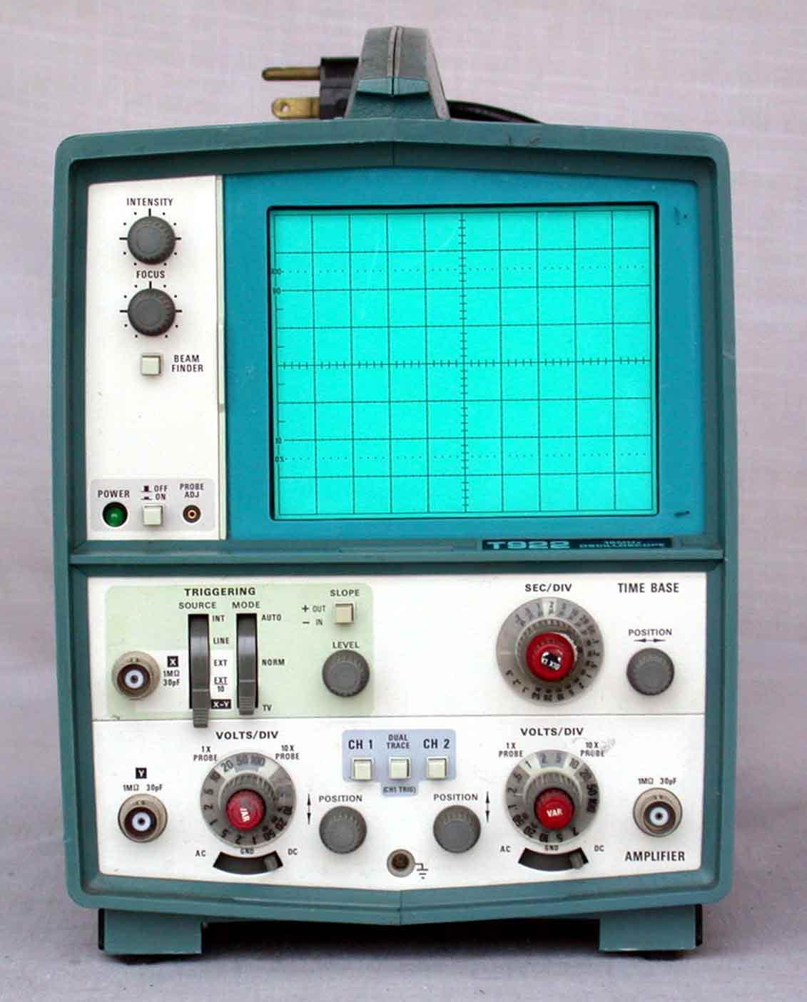Best Tektronix Oscilloscope : Tektronix t dualtrace oscilloscopes