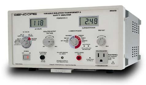 Sencore Pr570 Power Analyzers